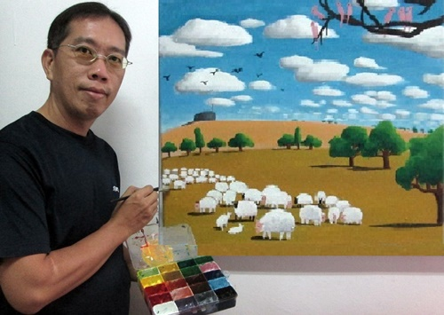 Art Teacher Paul Lee Online Art Class